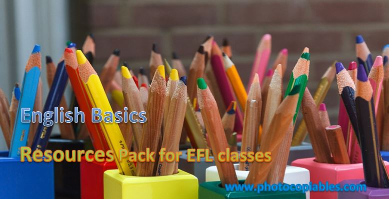 English Basics Resources Pack