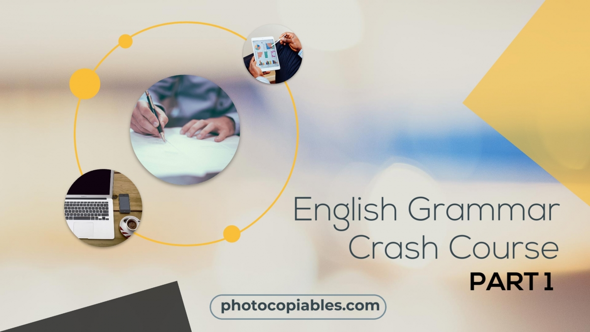 Englsigh Grammar Crash Course 1