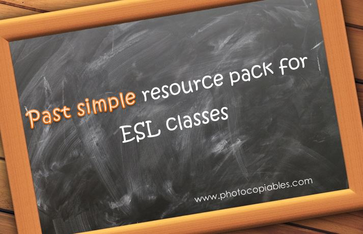 Past Simple Resources Pack