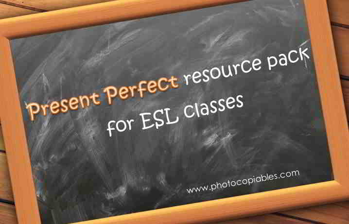 Present Perfect Resources Pack