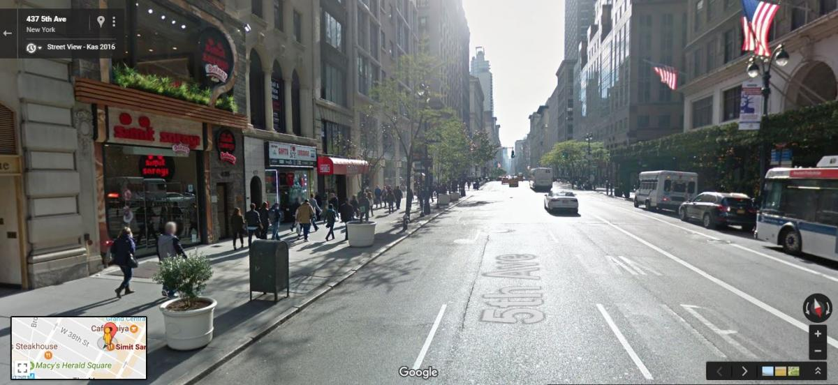 street view mode example