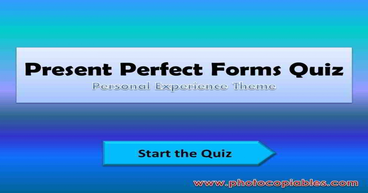 Present perfect forms interactive exercise_front
