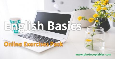 English basics online resource pack