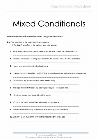 Mixed Conditionals_consolidation worksheet