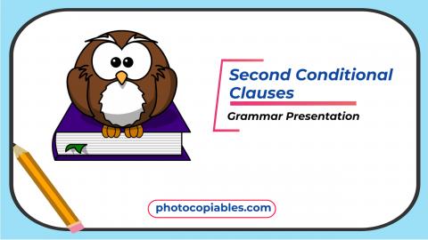 The Second Conditional Grammar Presentation