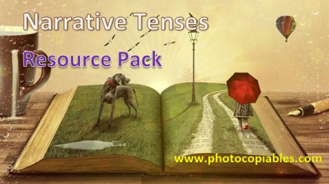 Narrative Tenses Resource Pack