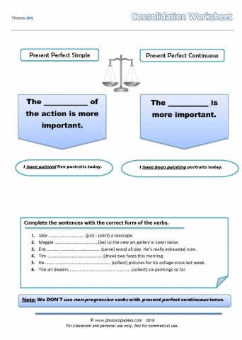 present-perfect-vs-present-perfect-continuous_consolidation worksheet