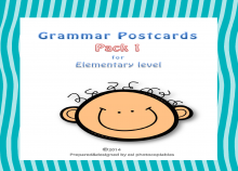 Grammar Postcards Small Pack 1_cover