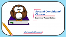 The Second Conditional Grammar Presentation