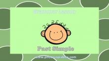 Past Simple Grammar Lesson slide 1