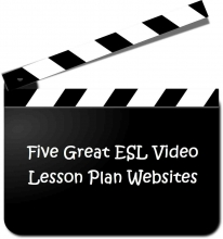 ESL video lesson l-plan websites