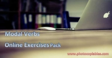 modal verbs online exercises pack