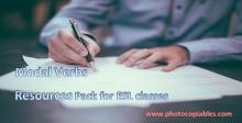 modal verbs resource pack