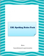 spelling rules pack cover